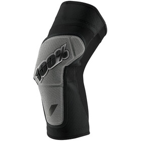 100% Ridecamp Knee Guards black/grey